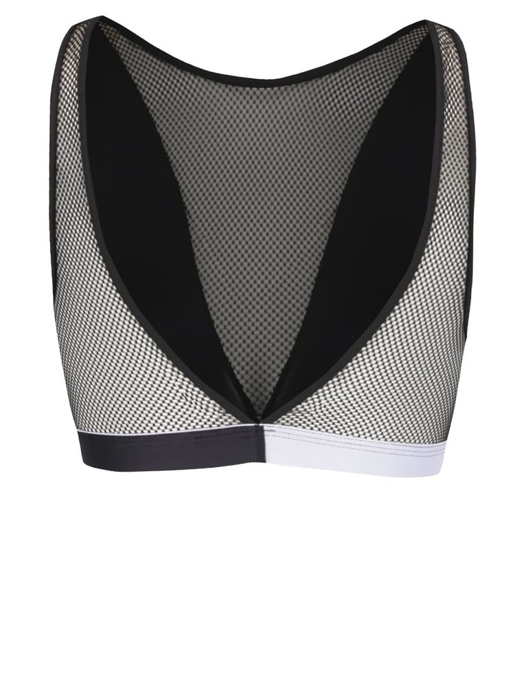 Černá podprsenka se síťovanými detaily Calvin Klein