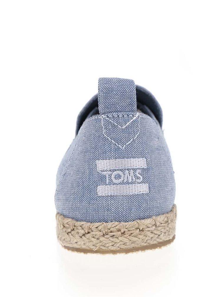 Espadrile albastre Toms pentru bărbați
