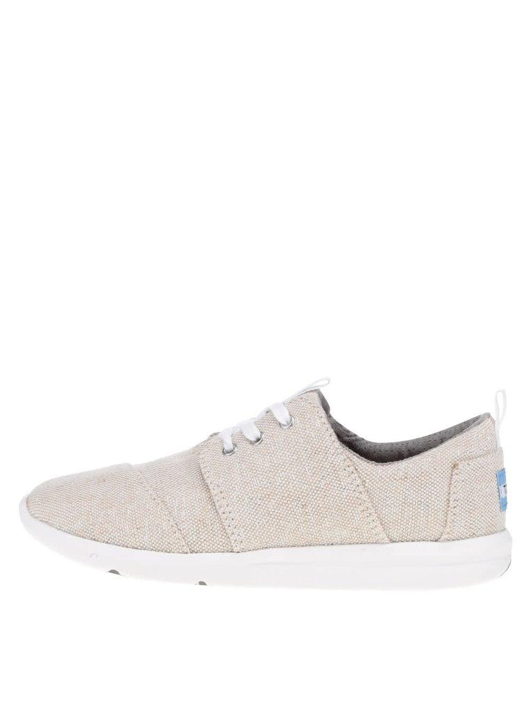 Pantofi sport bej pentru femei Toms
