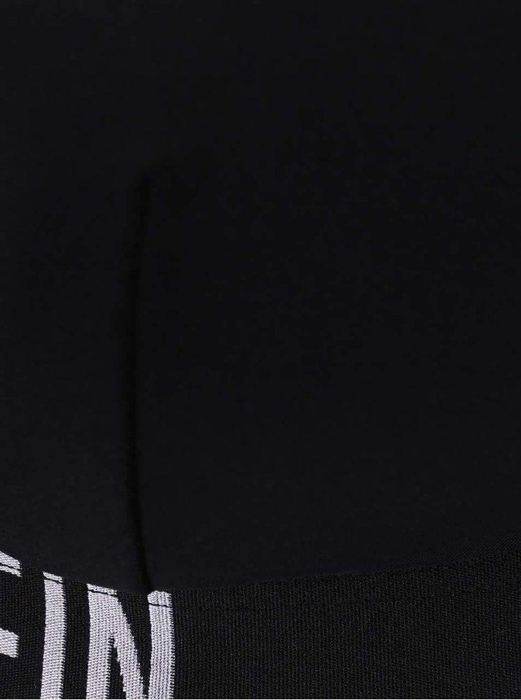 Černý horní díl plavek Calvin Klein