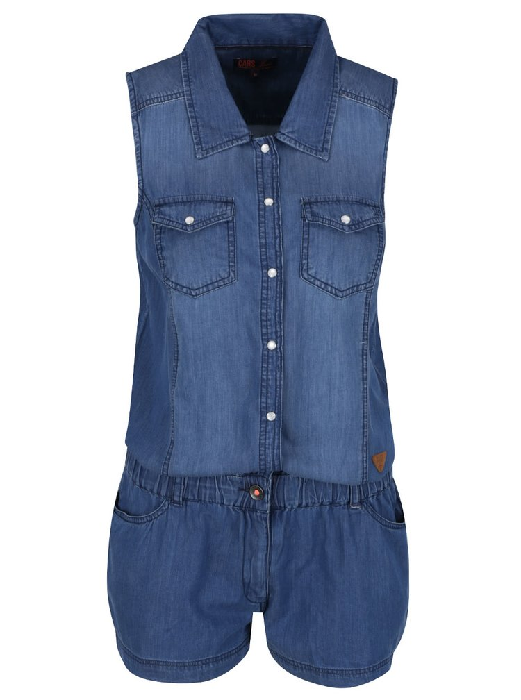 Salopeta albastra Cars Jumper din denim