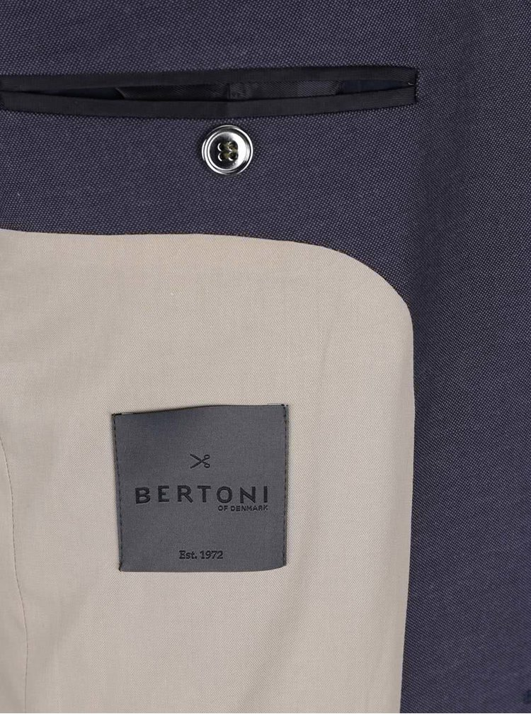 Sacou albastru inchis Bertoni Back