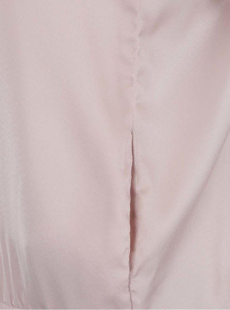 Světle růžová dámská lehká bunda Broadway Devanya