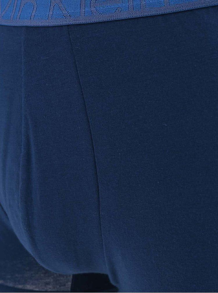 Sada dvou boxerek v modré barvě Calvin Klein