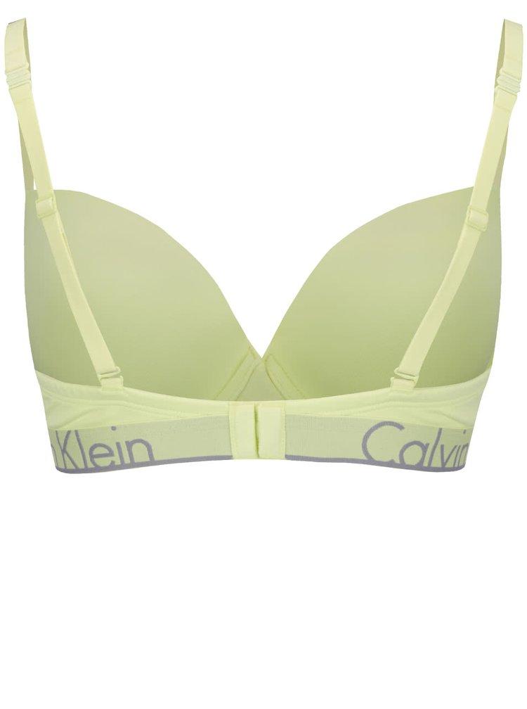 Zelená push-up podprsenka Calvin Klein