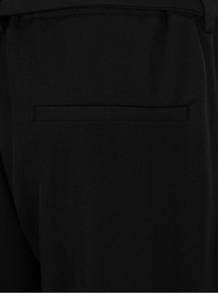 Černé společenské kalhoty Selected Femme Abela