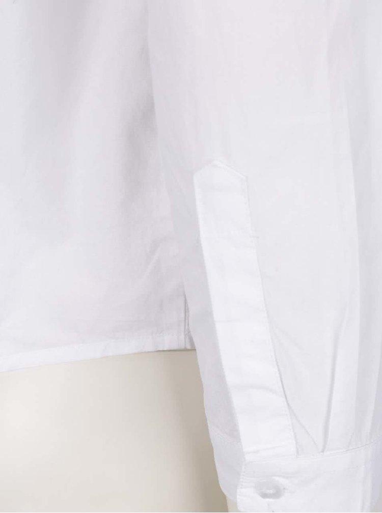 Cămașă albă TALLY WEiJL cu decupaj la spate