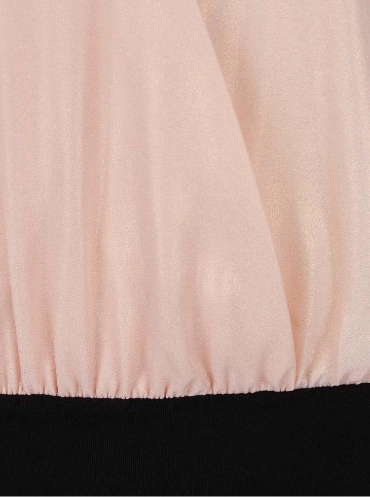 Top body roz deschis TALLY WEiJL cu bretele subțiri