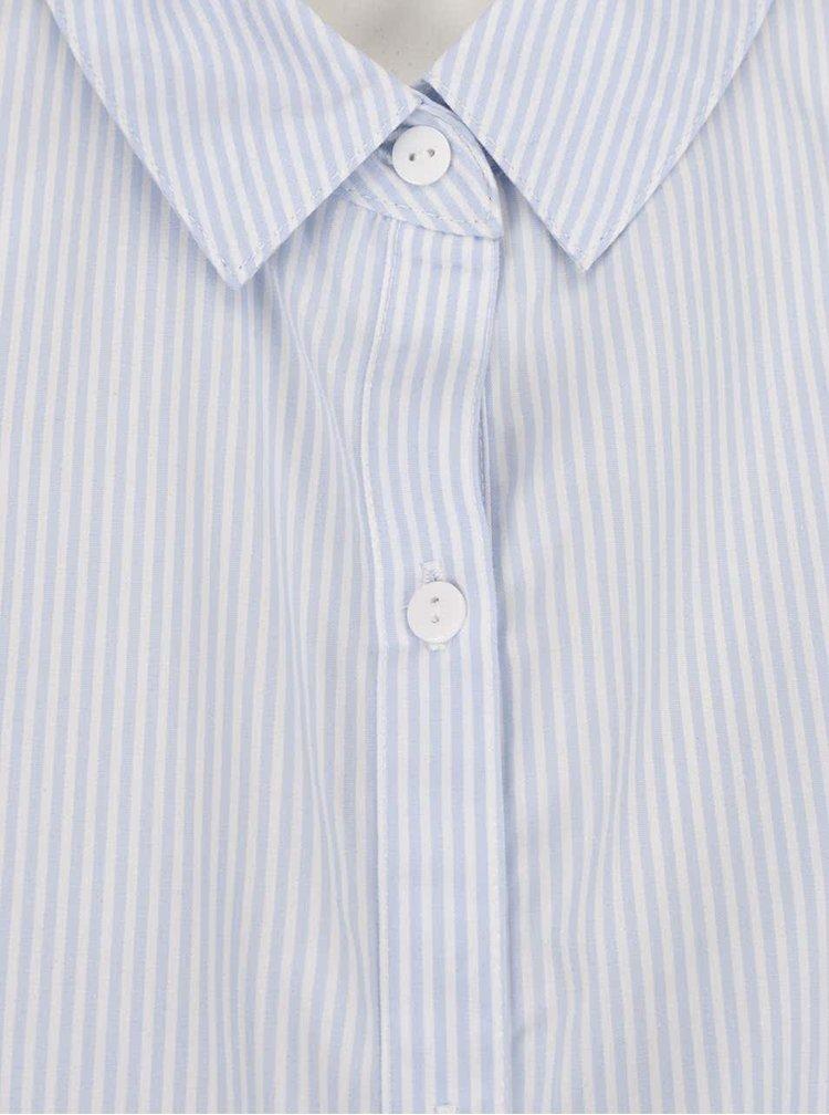 Světle modrá pruhovaná těhotenská košile Mama.licious Vitoria