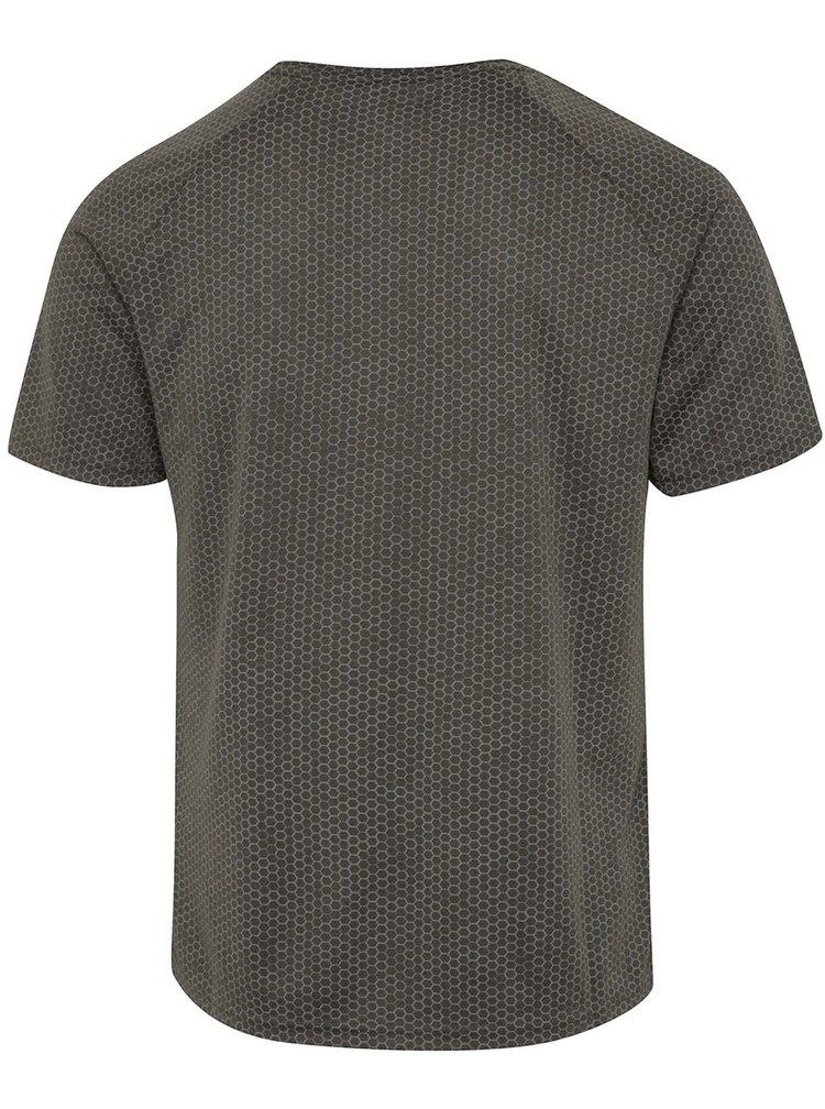 Šedé vzorované sportovní triko Blend