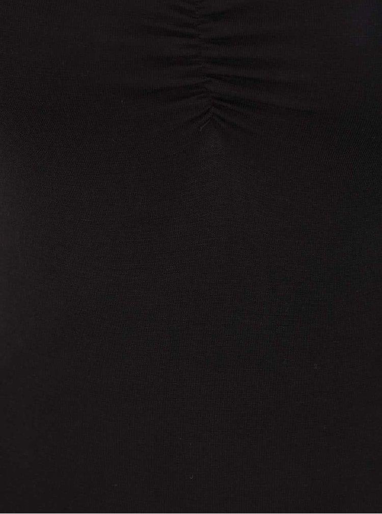 Body negru TALLY WEiJL cu bretele subțiri