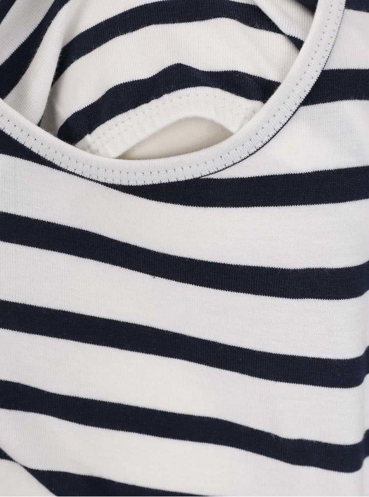 Sada dvou těhotenských/kojicích triček v šedé a modré barvě Mama.licious Lea