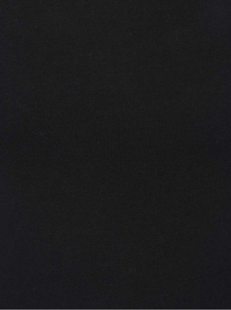 Černé body s kulatým výstřihem TALLY WEiJL