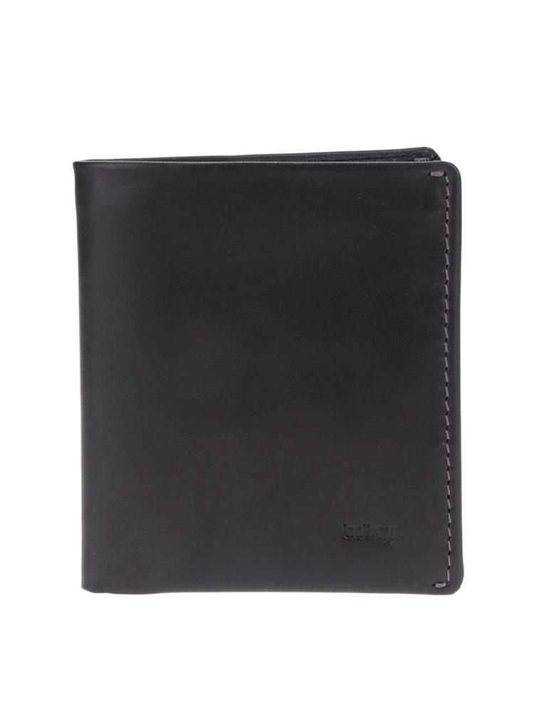 Portofel negru din piele Bellroy Note Sleeve  pentru bărbați