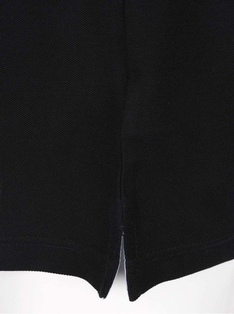 Černé polo triko Fynch-Hatton