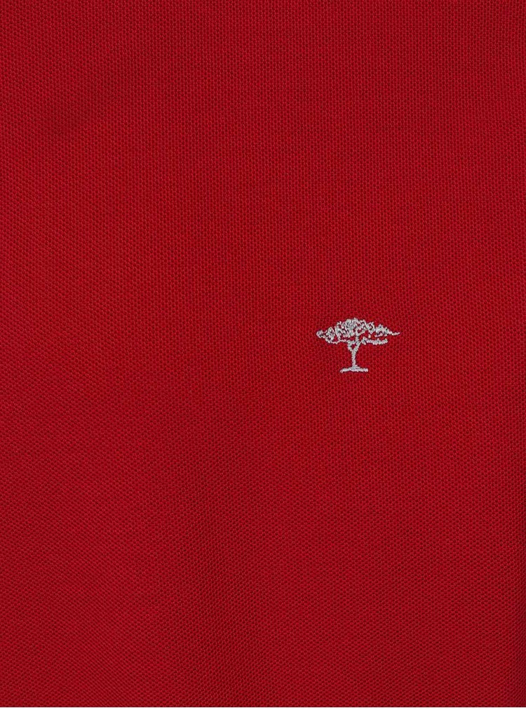 Červené polo triko Fynch-Hatton