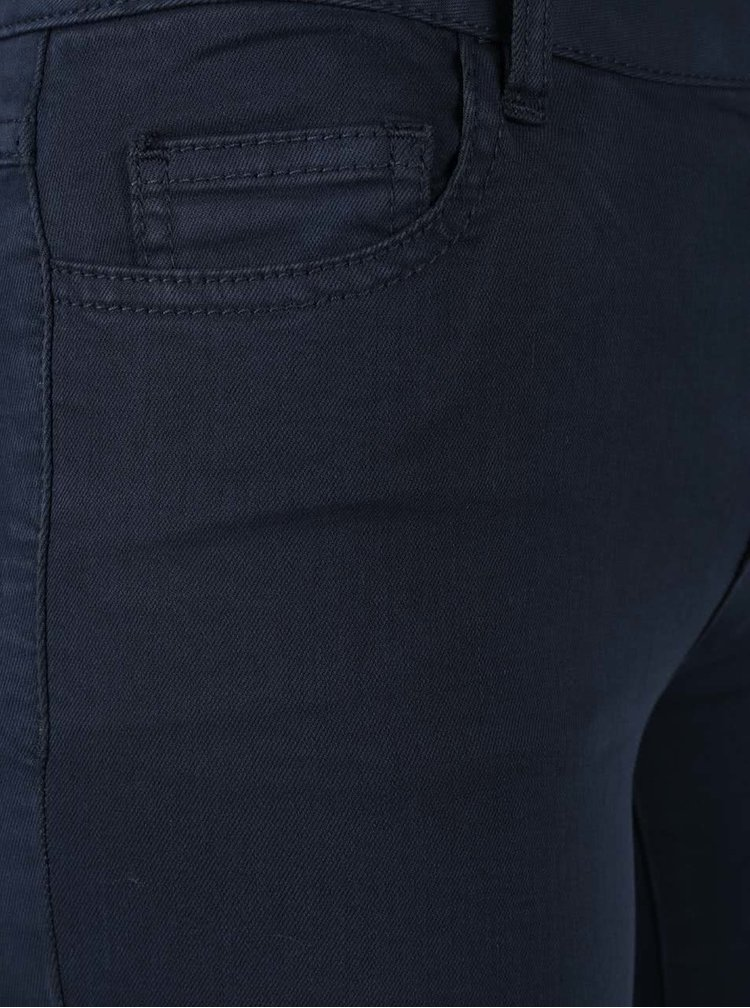 Pantaloni slim fit bleumarin - VILA Commit