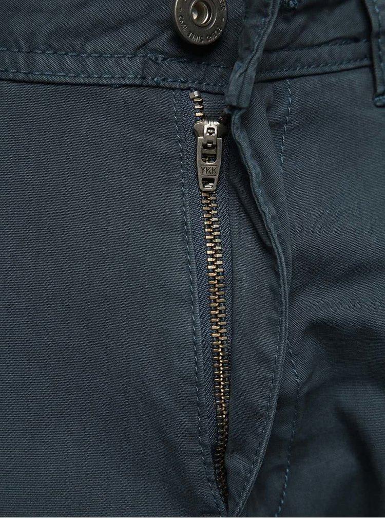 Pantaloni gri închis Blend cu croi slim
