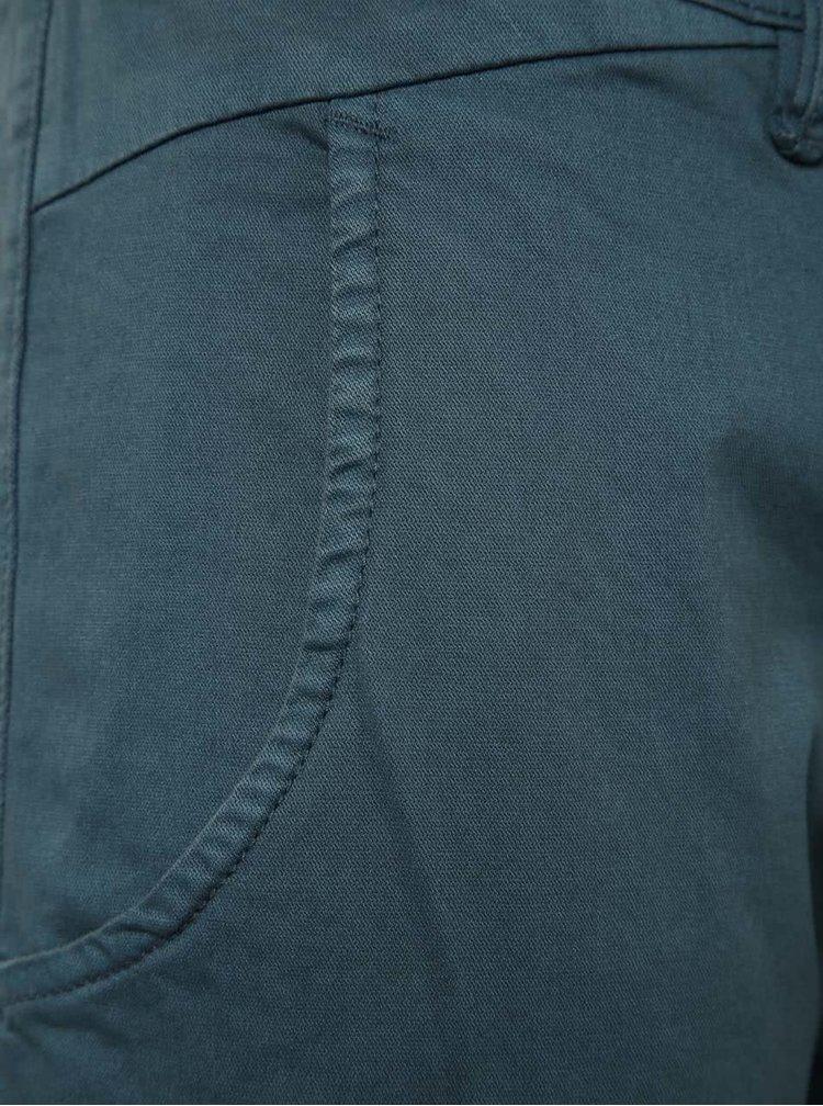 Pantaloni chino albastru petrol Blend
