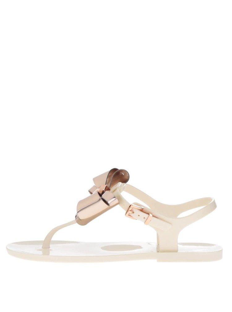 Krémové dámské sandály Ted Baker