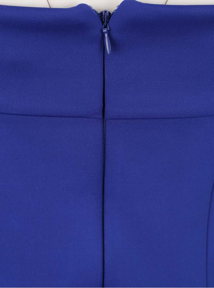 Rochie albastră Dorothy Perkins cu decolteu pe umeri
