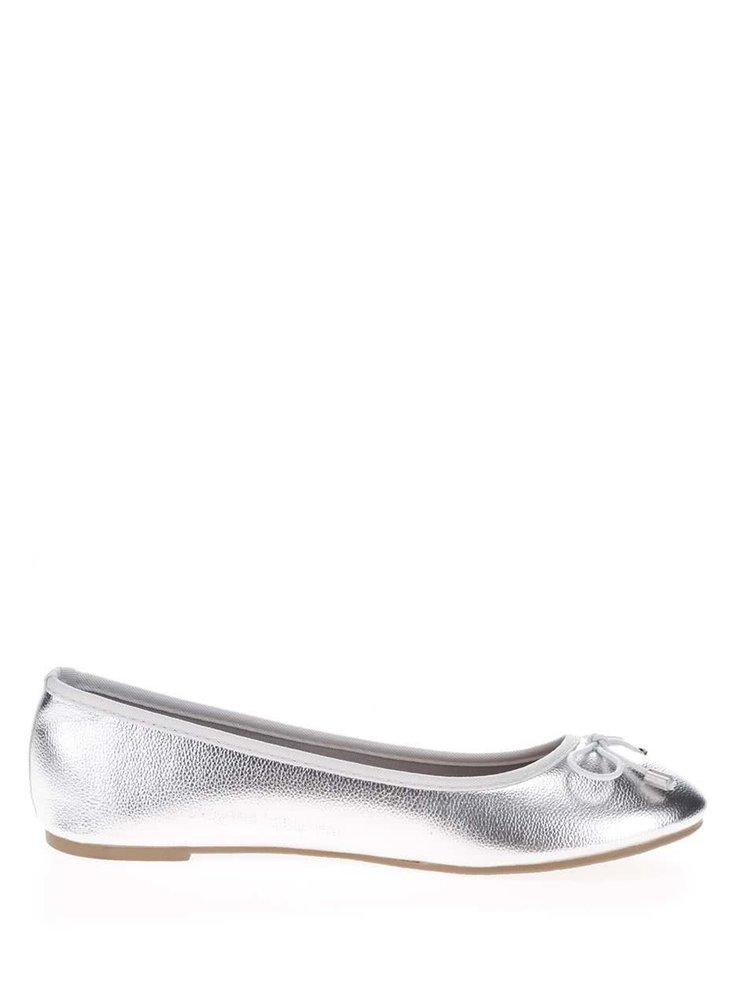 Balerini argintii Dorothy Perkins