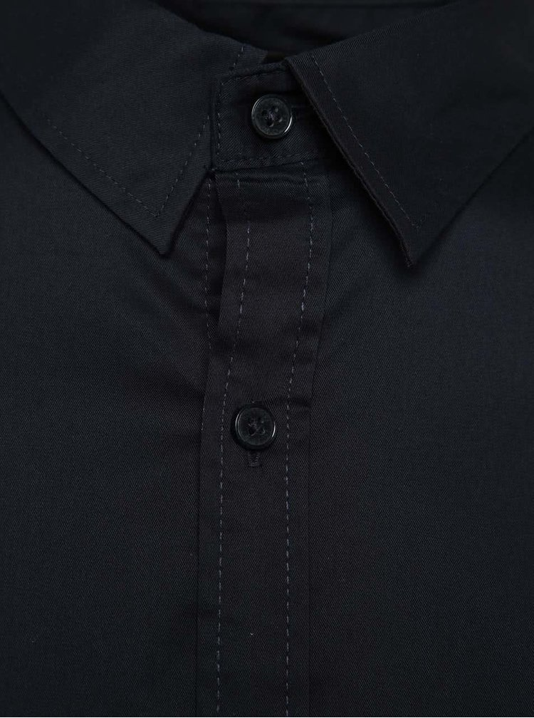 Tmavě modrá extra slim fit košile Only & Sons Alejandro