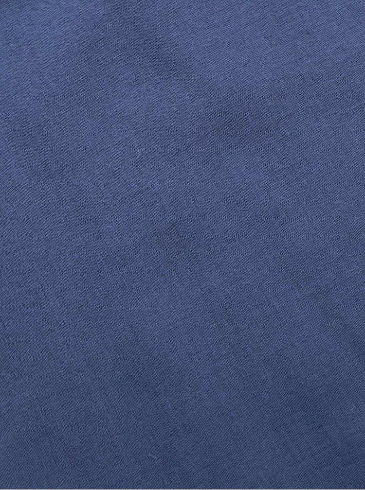 Esarfa albastra Dorothy Perkins cu insertie macrame