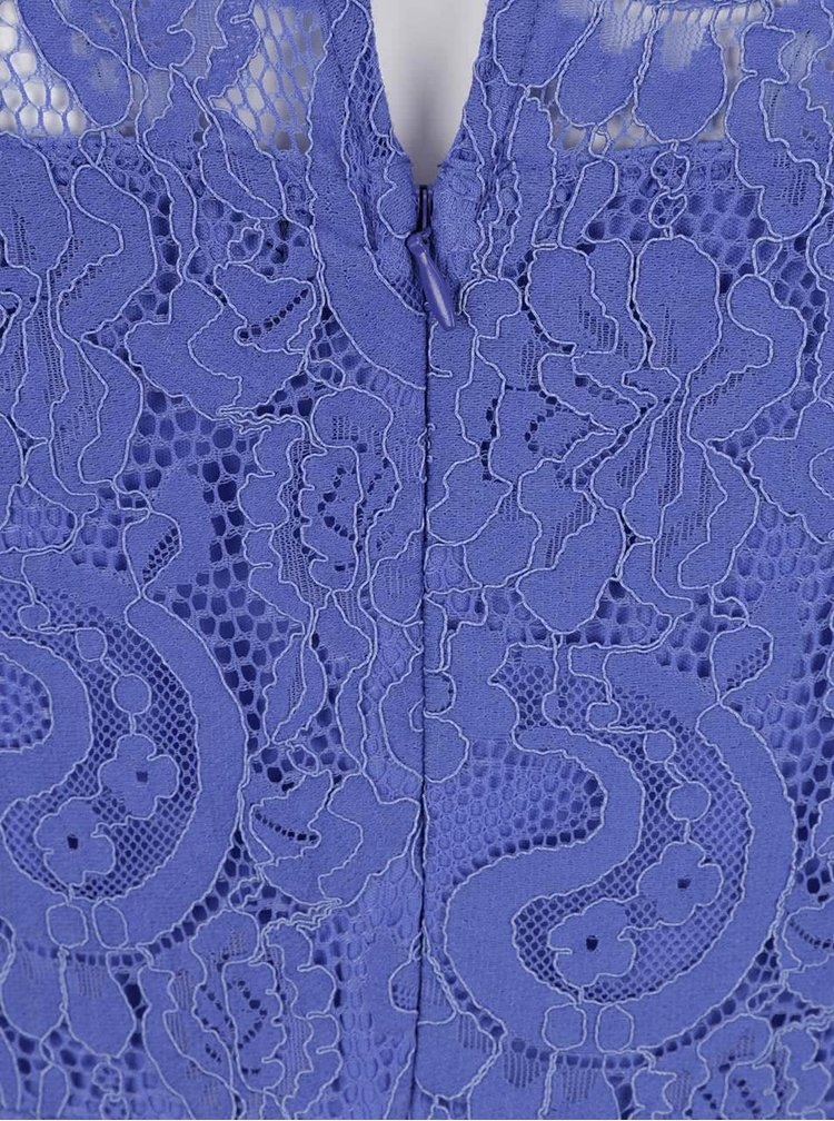 Rochie albastra Dorothy Perkins Curve din dantela