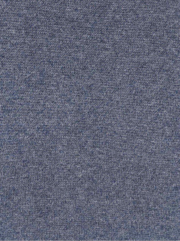 Modrý žíhaný svetr Bertoni Lukas