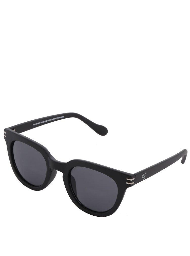Ochelari de soare negri CHPO Wellington unisex
