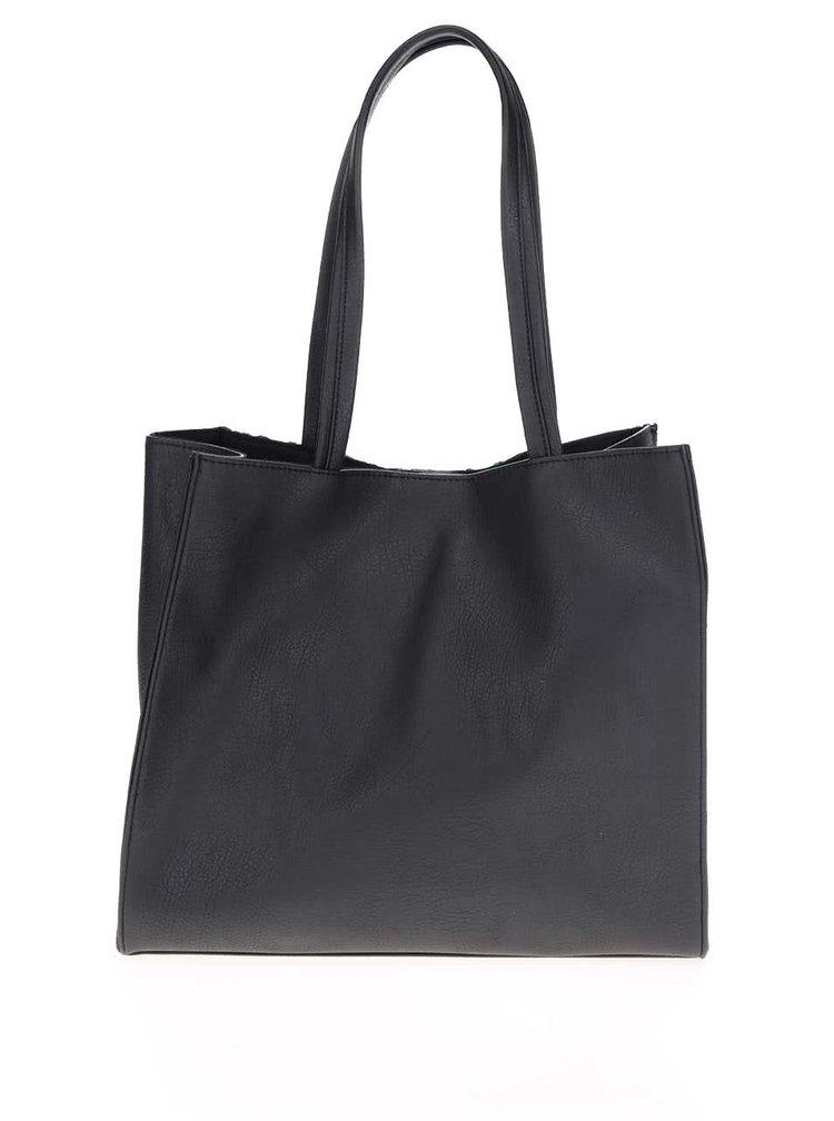 Černá květovaná kabelka do ruky Dorothy Perkins