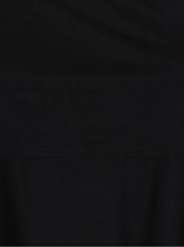 Černé tričko s odhalenými rameny Dorothy Perkins Curve
