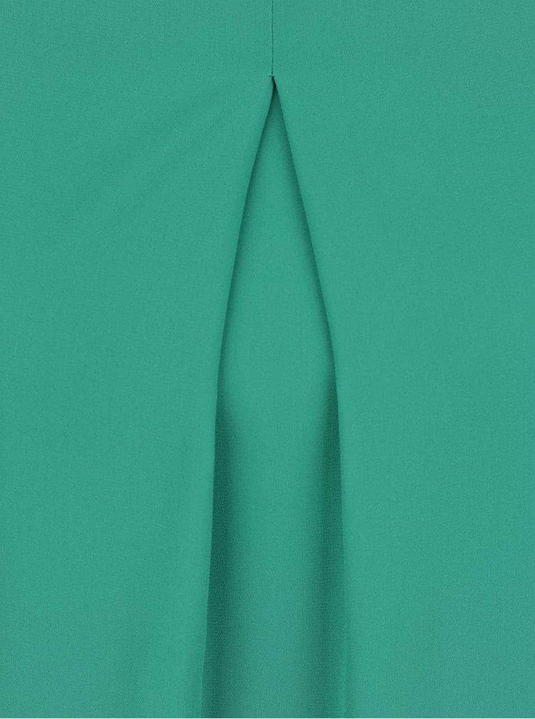 Rochie verde Dorothy Perkins cu decupaje pe umeri