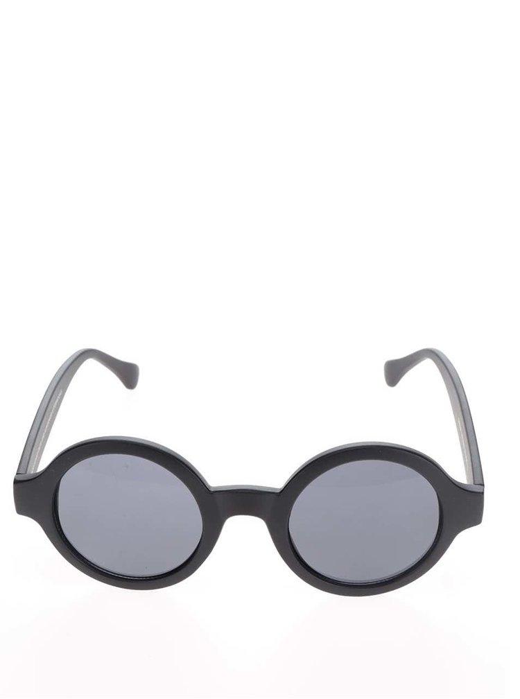 Černé unisex sluneční brýle CHPO Sarah