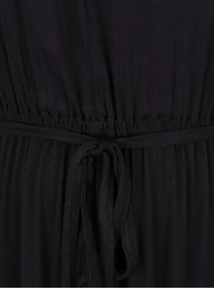 Rochie neagră Dorothy Perkins Curve cu decolteu cu decupaj