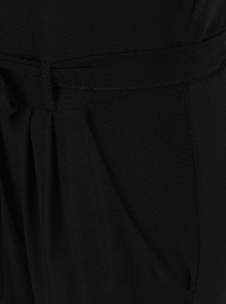 Salopetă neagră Dorothy Perkins cu decupaje pe umeri