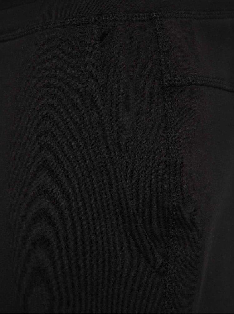Černé teplákové kraťasy ONLY & SONS New Huxi