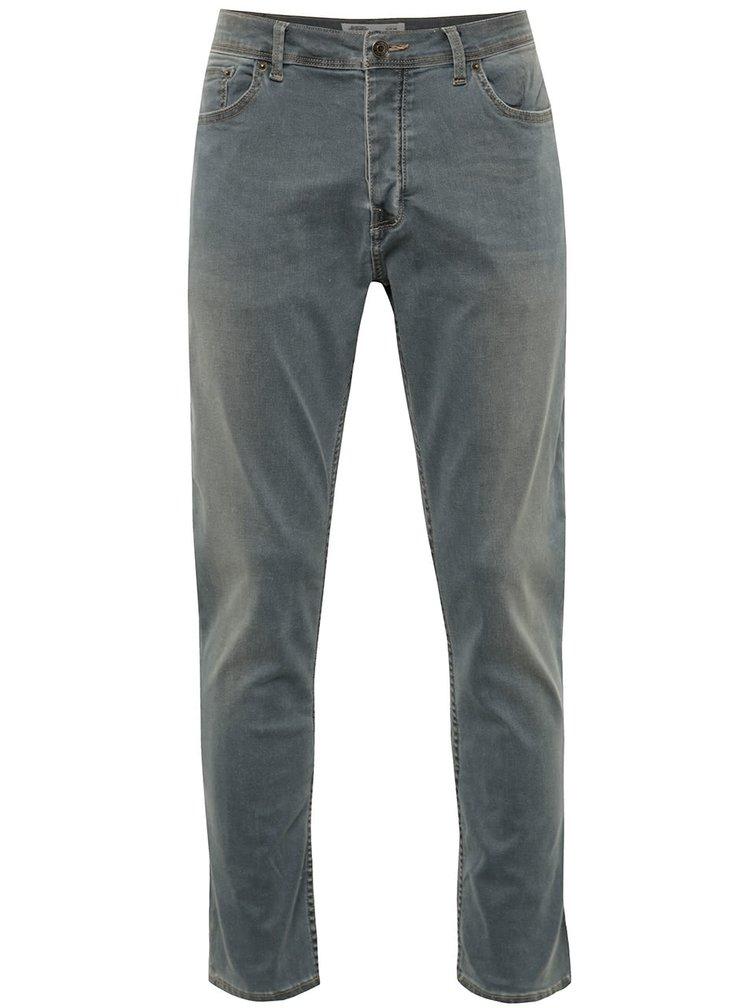 Blugi skinny skinny Burton Menswear London cu aspect usor prespalat