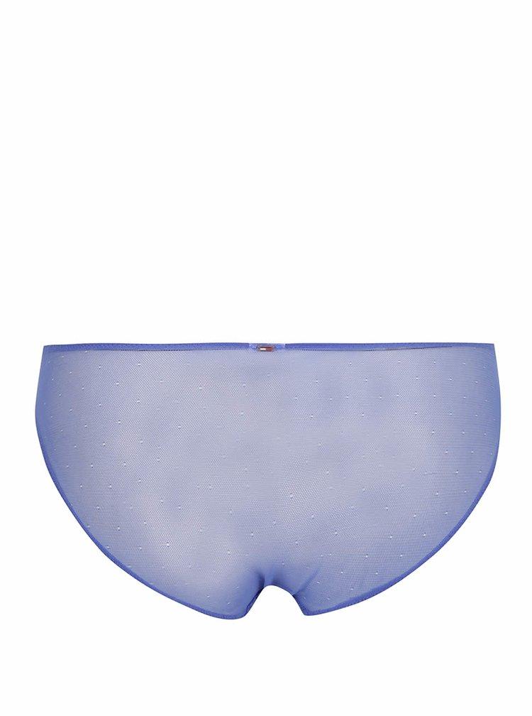 Modré krajkové kalhotky Tommy Hilfiger