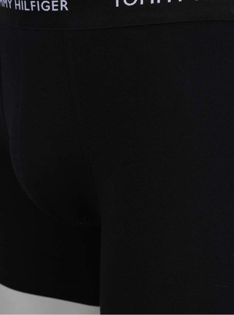 Sada tří boxerek v modré a černé barvě Tommy Hilfiger