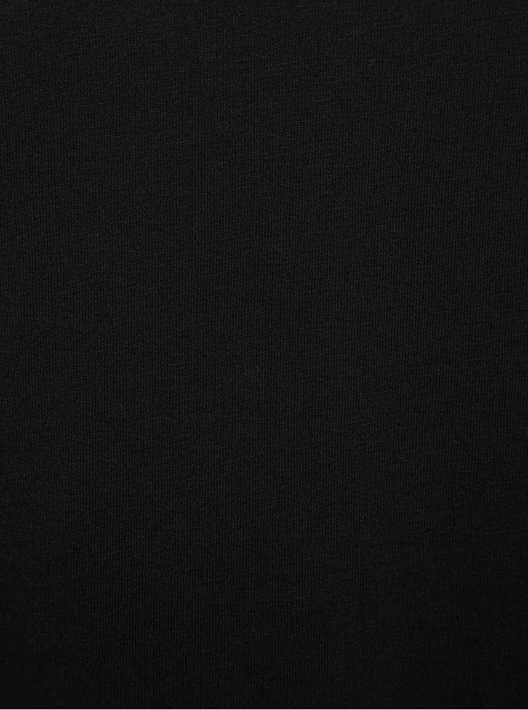 Maiou negru Burton Menswear London din bumbac