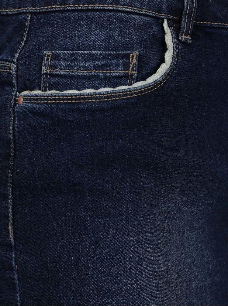 Tmavě modrá džínová sukně ONLY Phoebe