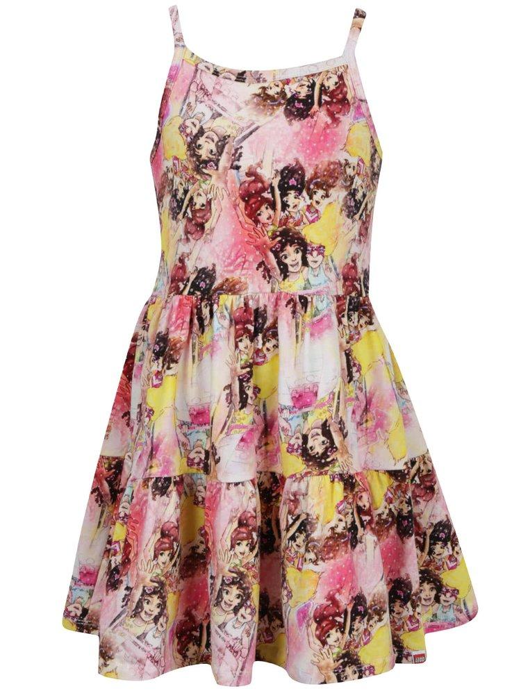Růžové holčičí šaty LEGO Wear Danica