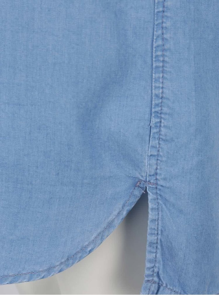 Modré džínové šaty Rich & Royal