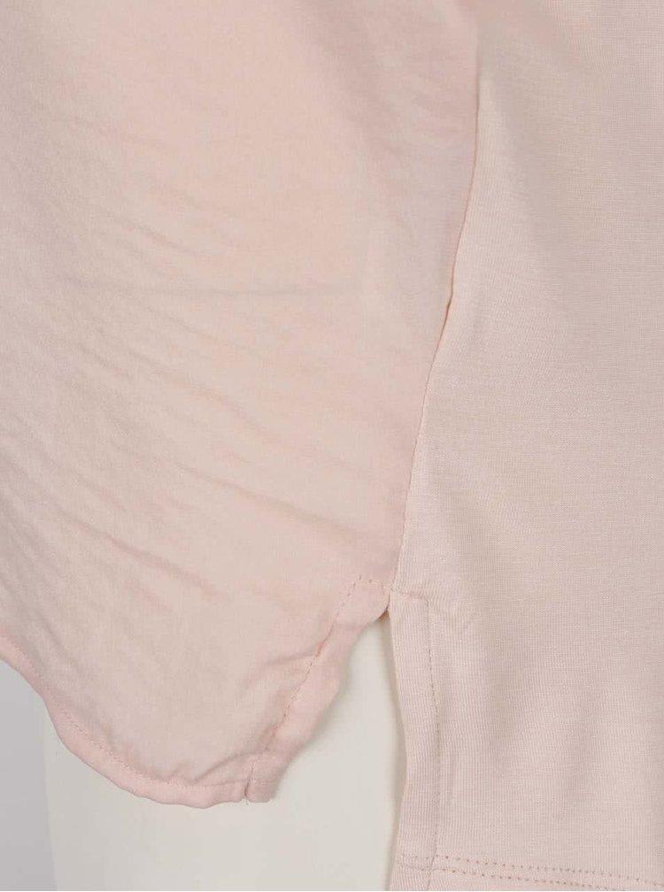 Top roz deschis VERO MODA Victoria cu decolteu în V