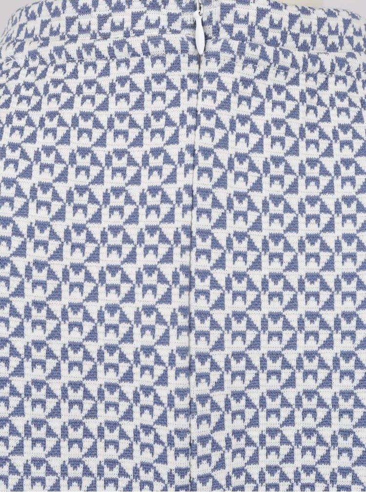 Modrý vzorovaný krátký overal Rich & Royal