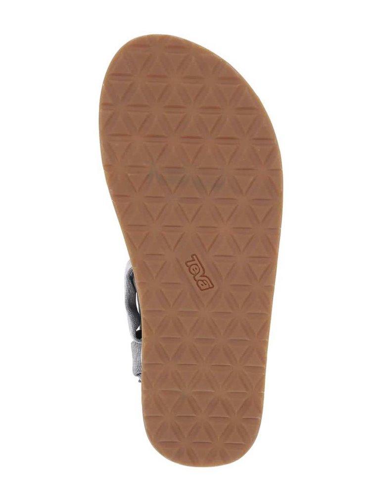Šedé žíhané pánské sandály Teva