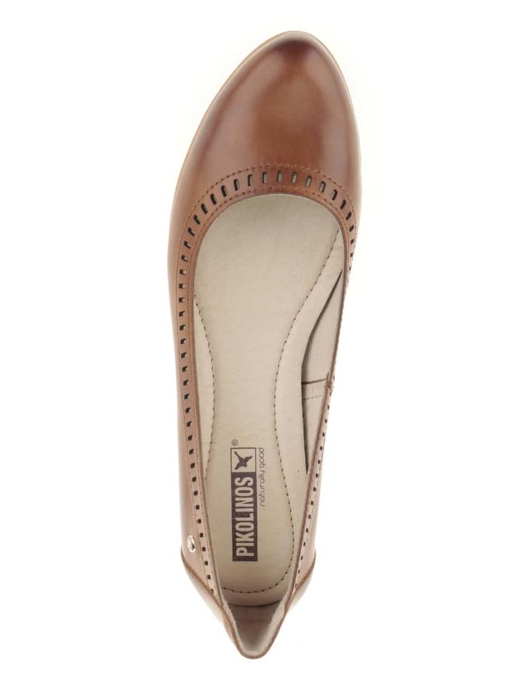 Pantofi maro Pikolinos Segovia din piele