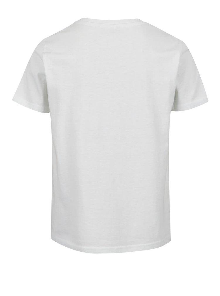 Krémové klučičí triko s potiskem LIMITED by name it Victorsim